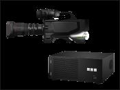 Professional camera broadcasting equipment