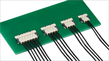 Small-Sized, Low Profile 1.0mm Height, Wire-to-Board Connectors for Power Supply DF58 series