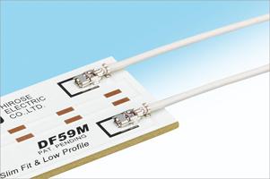 Mono-pole Wire to Board Connector  DF59M Series