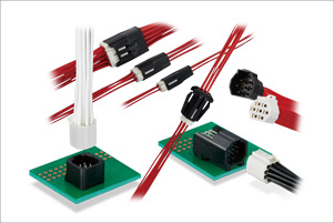 Wire-to-Wire Connectors for Small Spaces  DF62 Series