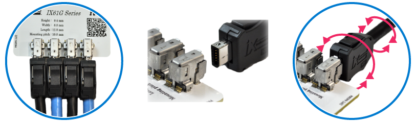 A miniaturized new standard connector for industrial applications, robot