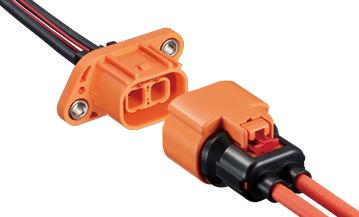 車載対応 高電圧コネクタ HVH-280シリーズ車載/自動車コネクタ