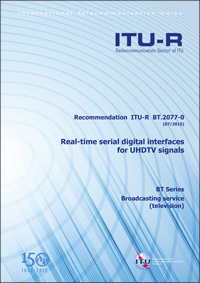 ITU-R BT.2077 光コネクタ