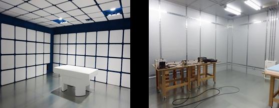 EMC試験室(電波暗室・シールドルーム)
